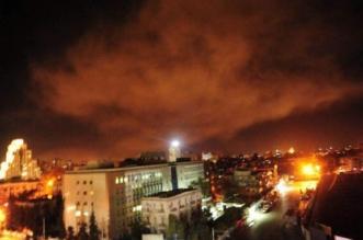الدفاعات الجوية تتصدى لأهداف معادية في سماء دمشق - المواطن