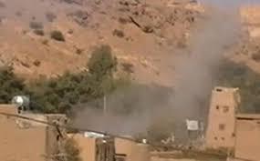 الجيش اليمني يدك معقل زعيم ميليشيا الحوثي في صعدة - المواطن
