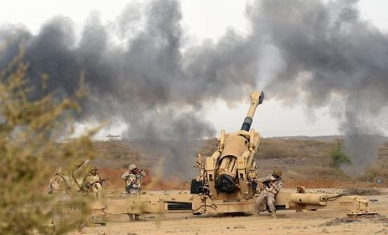 قصف-للحوثيين