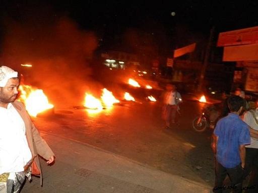 قصف-مصنع-البان-حوثي