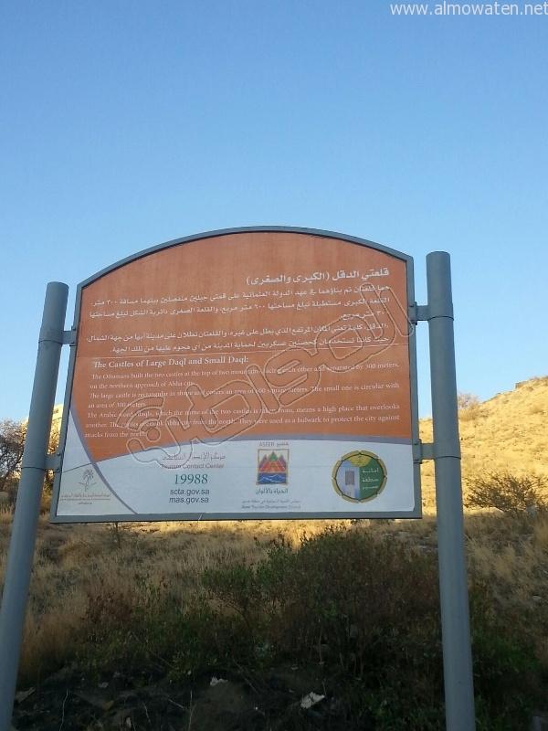 قلعة شمسان والدقل الكبرى التاريخية (2)