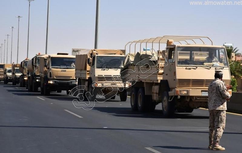 قوات إضافية من أبطال الحرس الوطني على ثغور الحدود الجنوبية10