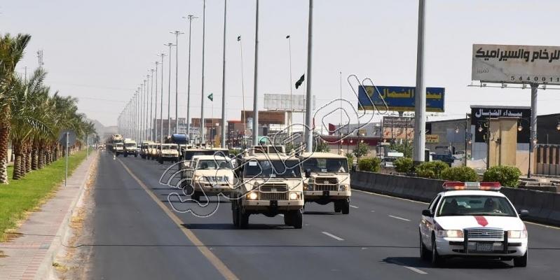 قوات إضافية من أبطال الحرس الوطني على ثغور الحدود الجنوبية3