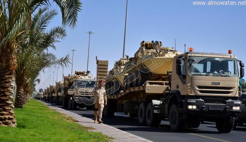 قوات إضافية من أبطال الحرس الوطني على ثغور الحدود الجنوبية4