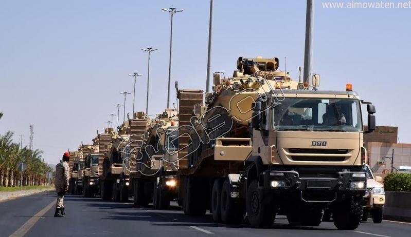 قوات إضافية من أبطال الحرس الوطني على ثغور الحدود الجنوبية5