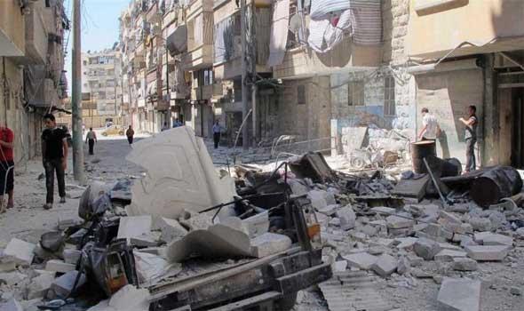 قوات الاسد تقصف منازل اللاجئين الفلسطينيين في مخيم درعا حرب فلسطين اسرائيل