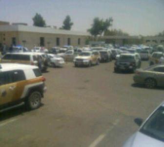 قوات الأمن تطوق مستشفى بحائل3
