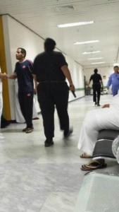 قوات الأمن تطوق مستشفى بحائل4