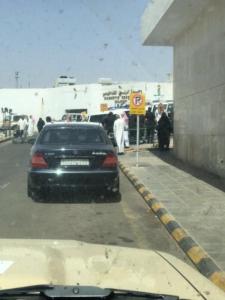 قوات الأمن تطوق مستشفى بحائل5