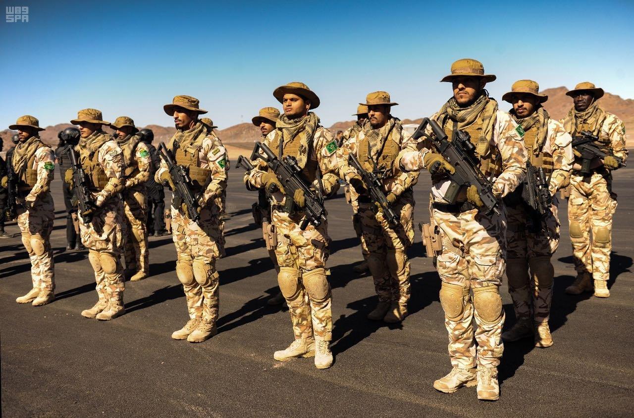 قوات الامن الخاصة تستعد لتمرين وطن87 4