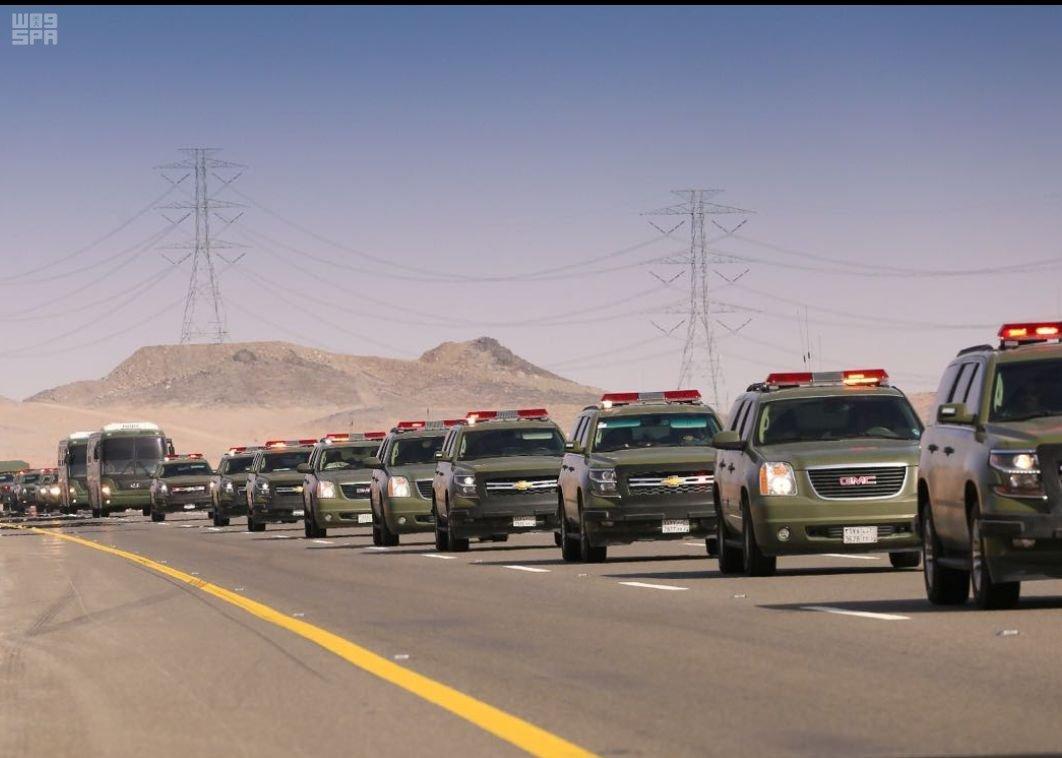 قوات الامن الخاصة تستعد لتمرين وطن87