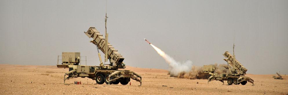 """قوات الدفاع الجوي الملكي السعودي """" تعترض وتدمر صاروخ بالستي"""" أطلق باتجاه أراضي المملكه"""
