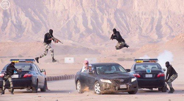 بالفيديو والصور .. تضحيات وبطولات قوات الطوارئ تجنب المملكة ويلات الإرهاب