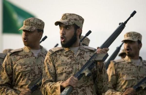 قوات سعودية - الجيش - الحرس الوطني