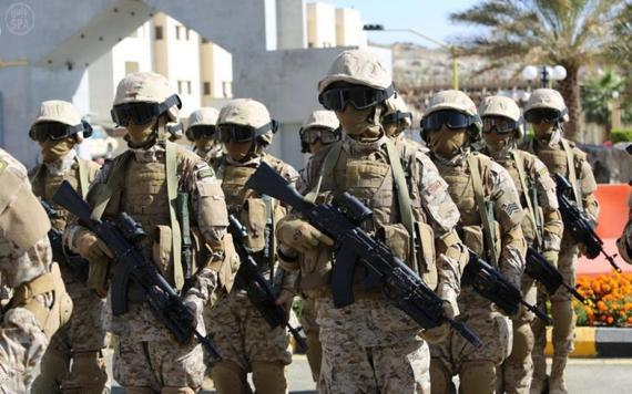 قوات سعودية وفرنسية
