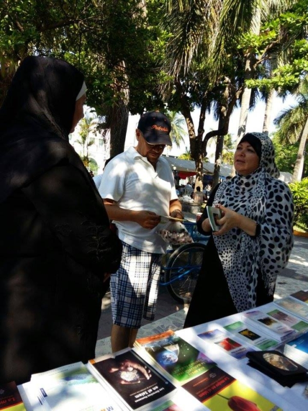 تفاعل إيجابي مع القوافل الدعوية للتعريف بالإسلام في المكسيك