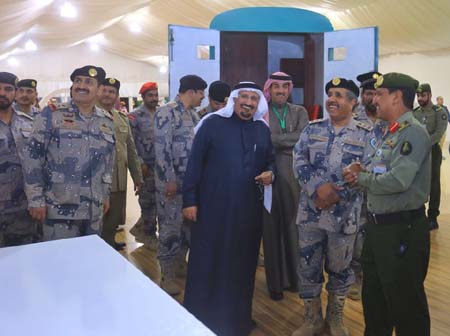 قيادات أمنية وعسكرية ومسوؤلون يتوافدون على جناح3