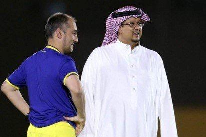 كانيدا ورئيس نادي النصر