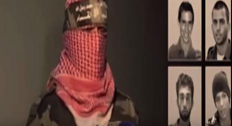 كتائب القسام تكشف عن اربعة اسرى اسرائيليين لديها