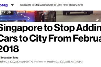 سنغافورة تمنع ترخيص السيارات الجديدة - المواطن