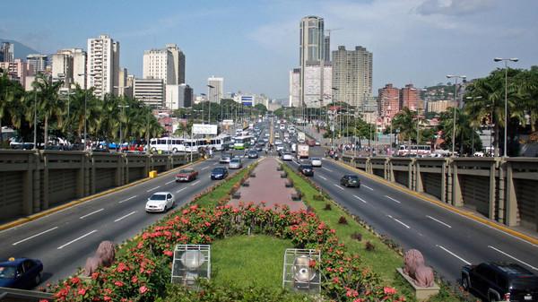 كراكاس عاصمة فنزويلا