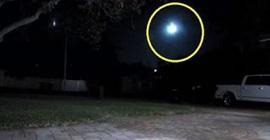 كرة نارية تظهر في السماء