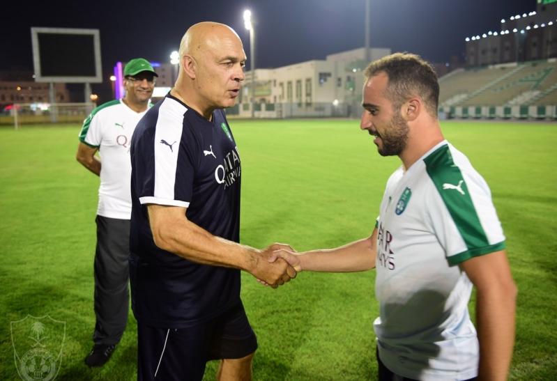 جروس: سعيد بالفوز والسعودية تستطيع التأهّل للمونديال