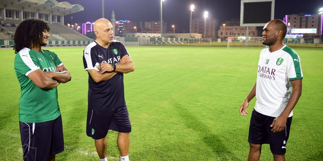 مدرب #الأهلي : نبني فريقًا جديدًا ومواجهة #الرائد كانت صعبة