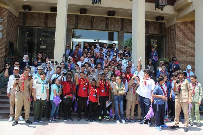 كشافة المملكة تُشارك في الملتقى الكشفي العربي للمراسل الإعلامي الصغير 1