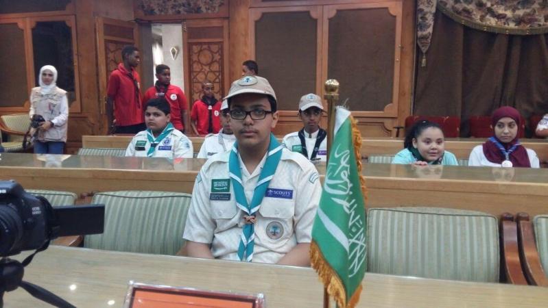 كشافة المملكة تُشارك في الملتقى الكشفي العربي للمراسل الإعلامي الصغير 6