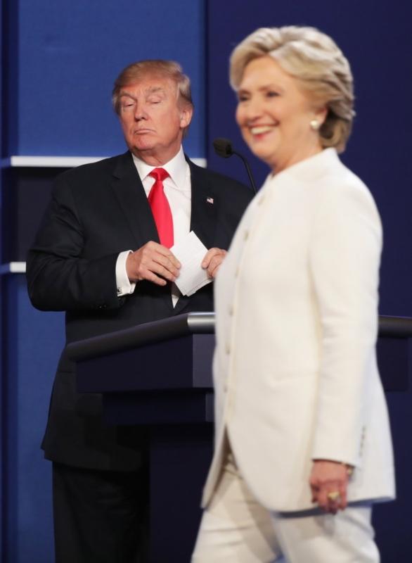 كلينتون وترامب - المناظرة الاخيرة
