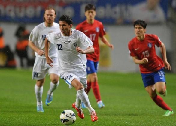 كوريا الجنوبية اوزبكستان