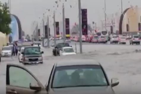كيف غرقت #قطر في مياه الأمطار