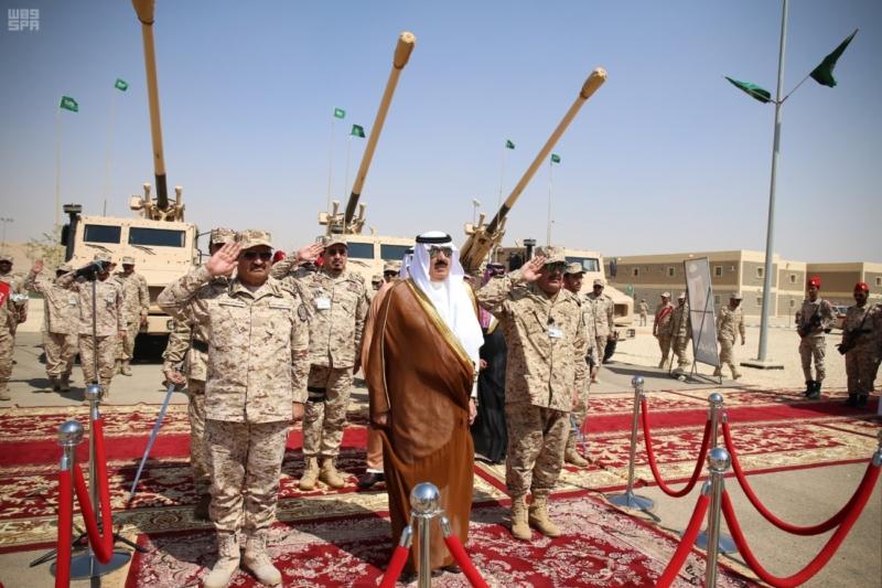 لأمير متعب بن عبدالله جاهزون لتنفيذ أوامر خادم الحرمين الشريفين في أي مكان وزمان 2