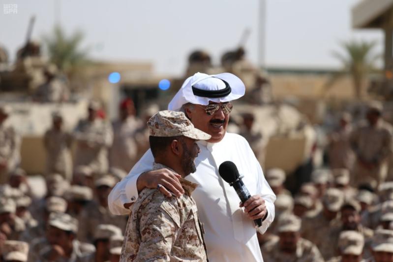 لأمير متعب بن عبدالله جاهزون لتنفيذ أوامر خادم الحرمين الشريفين في أي مكان وزمان 5