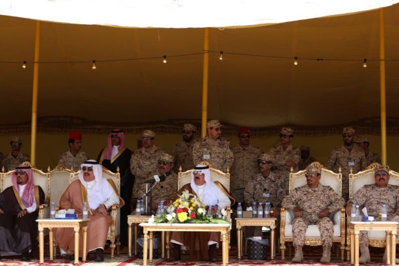 لأمير متعب بن عبدالله جاهزون لتنفيذ أوامر خادم الحرمين الشريفين في أي مكان وزمان