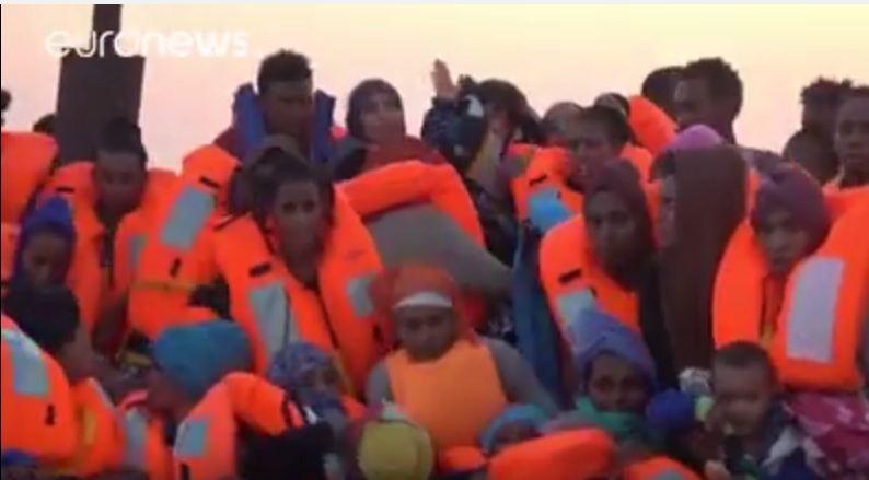 لاجئون البحر المتوسط ليبيا