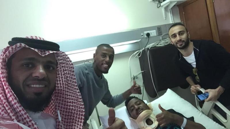 لاعب النصر سعودي حمود