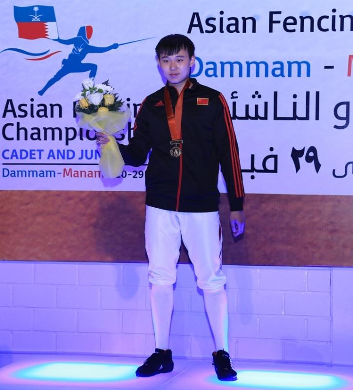 لاعب صيني2