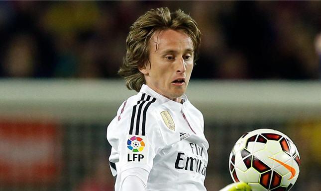لاعب وسط ريال مدريد الإسباني، لوكا مودريتش