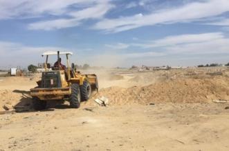 لجنة التعديات في أملج تستعيد 10 آلاف متر من الأراضي - المواطن