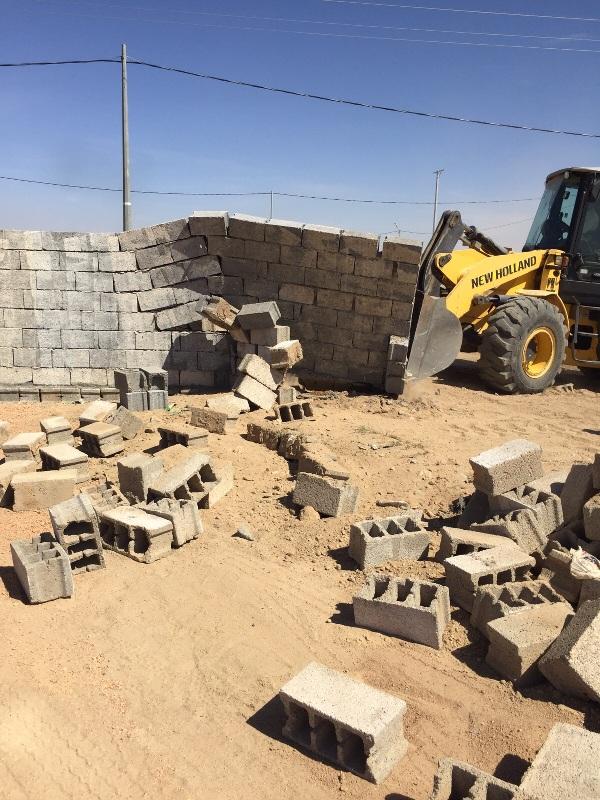 لجنة تعديات #نجران تستعيد 300 ألف متر مربع بمركز #رجلاء (2)