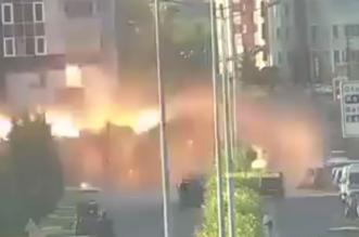 شاهد.. فيديو جديد يظهر لحظة التفجير المروع أمام قصر الرئاسة بأنقرة - المواطن