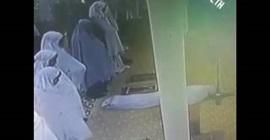 لحظة وفاة امراة داخل مسجد