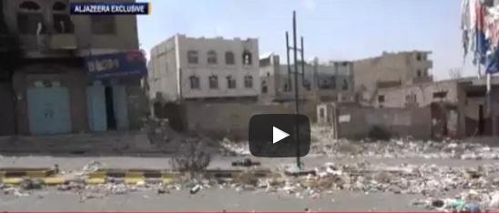 لحظة وفاة مصور صحفي يمني برصاص قناص حوثي في تعز