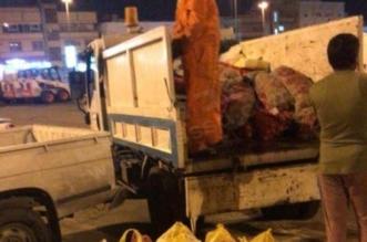 إتلاف 600 كجم من الأسماك واللحوم التالفة في الخبر - المواطن