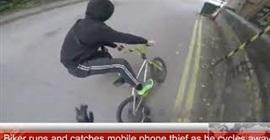 شاهد.. شاب يتصدى للص حاول سرقة عجوز وسط الطريق - المواطن