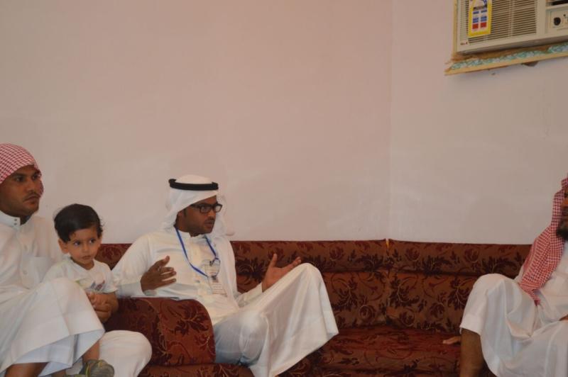 لقاء ذوي الشهيد علي بن عبدالخالق عالي محمد الرزقي القرني (1)