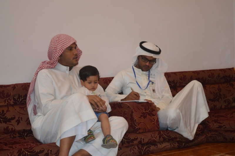 لقاء ذوي الشهيد علي بن عبدالخالق عالي محمد الرزقي القرني (4)