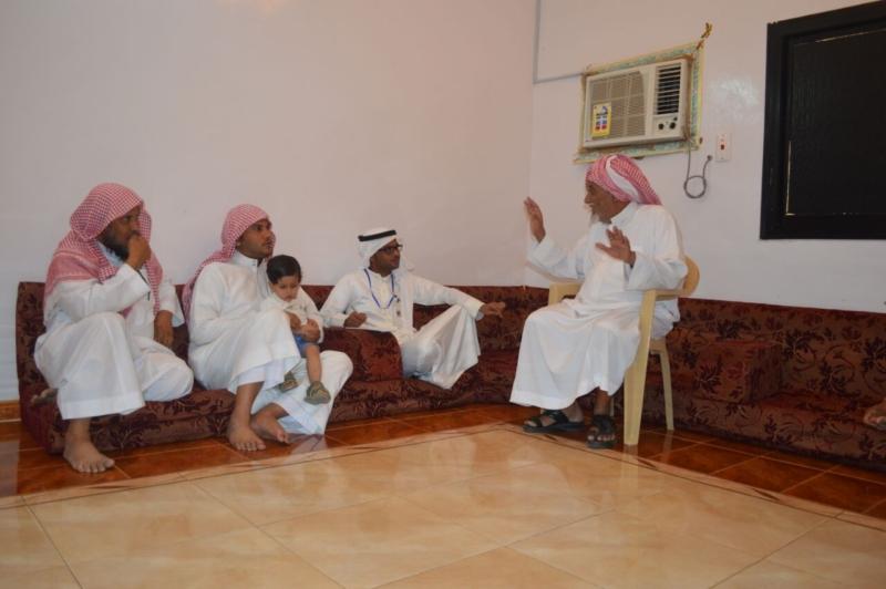 لقاء ذوي الشهيد علي بن عبدالخالق عالي محمد الرزقي القرني (5)